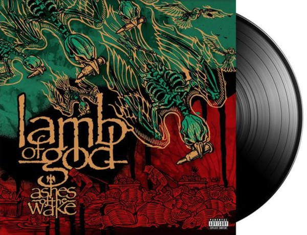 LP Lamb Of God - Ashes Of The Wake (15th Anniversary)  2LP