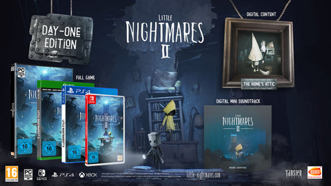 Jogo PS4 Little Nightmares II Day One Edition