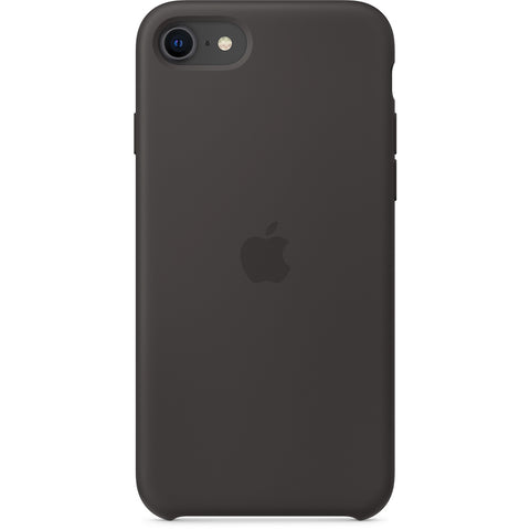 Capa Apple em Silicone iPhone SE Preto