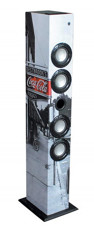 Metronic Torre Coluna Bluetooth Coca-Cola FM USB MP3 64W (477590)