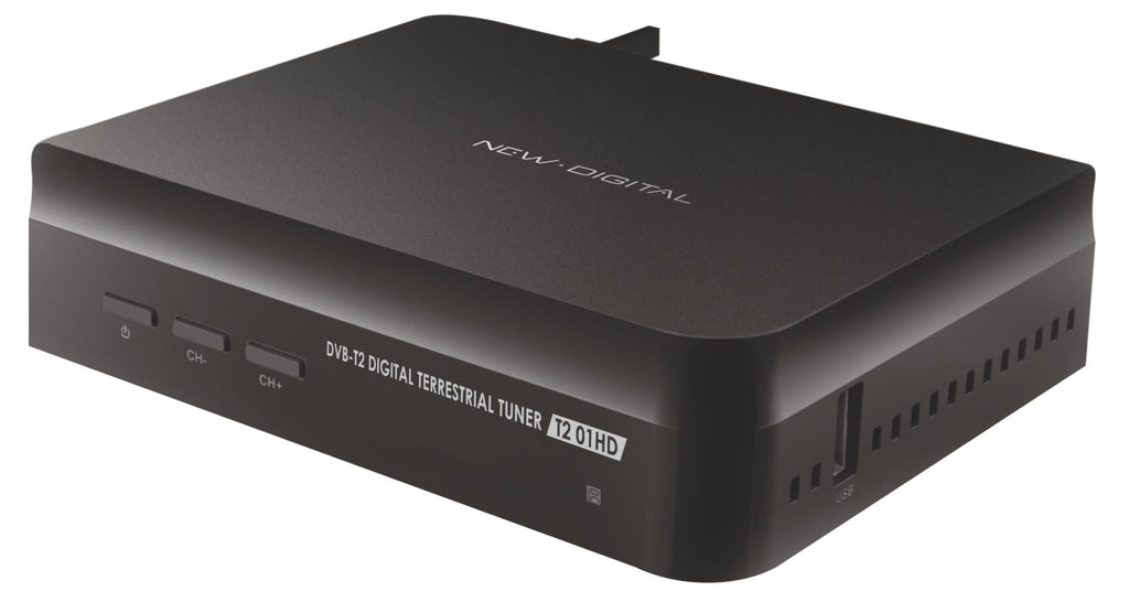 Recetor TDT New Digital T2 HD DVB-T2/T USB PVR