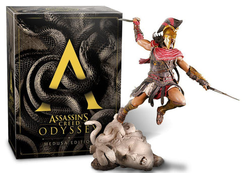 RESERVA JÁ PS4 ASSASSIN'S CREED ODYSSEY MEDUSA EDITION ESP
