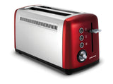 Morphy Richards Torradeira Accents Vermelha Long Slot 2 Fendas (245003)