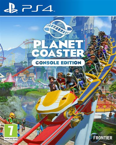 Jogo PS4 Planet Coaster