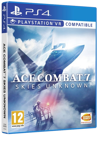 Jogo PS4 Ace Combat 7: Skies Unknown