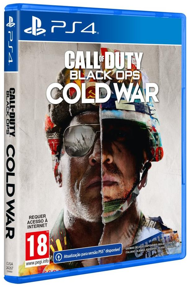 Jogo PS4 Call Of Duty Cold War