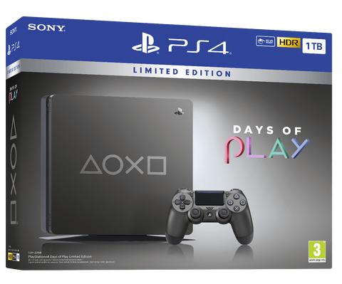Consola PS4 1TB Ed. Especial Days of Play