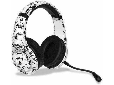4Gamers PS4 Headset Gaming PRO 4-70 Camo Branco