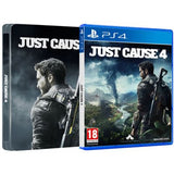 PS4 JUST CAUSE 4 STEELBOOK EDITION