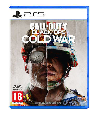 Jogo PS5 Call Of Duty Cold War