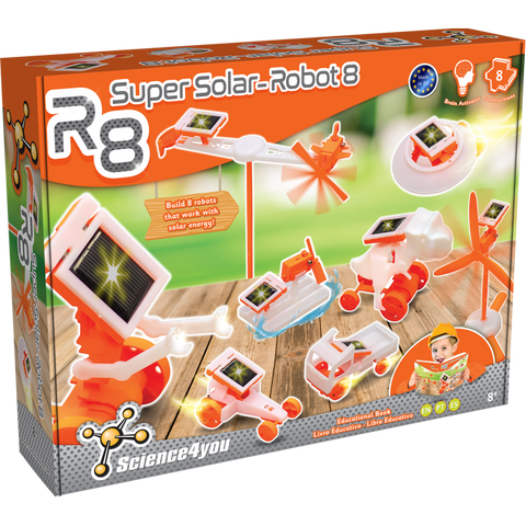 Science4You R8 - Super Solar-Robot 8