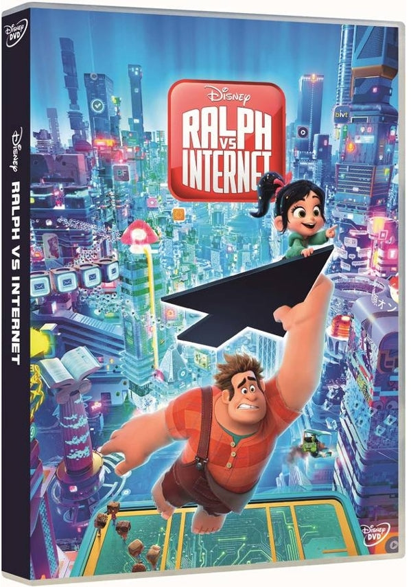 DVD Ralph VS Internet