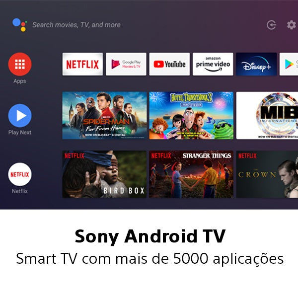 Smart TV Android Sony KD-75XH9096 75 LED Ultra HD 4K