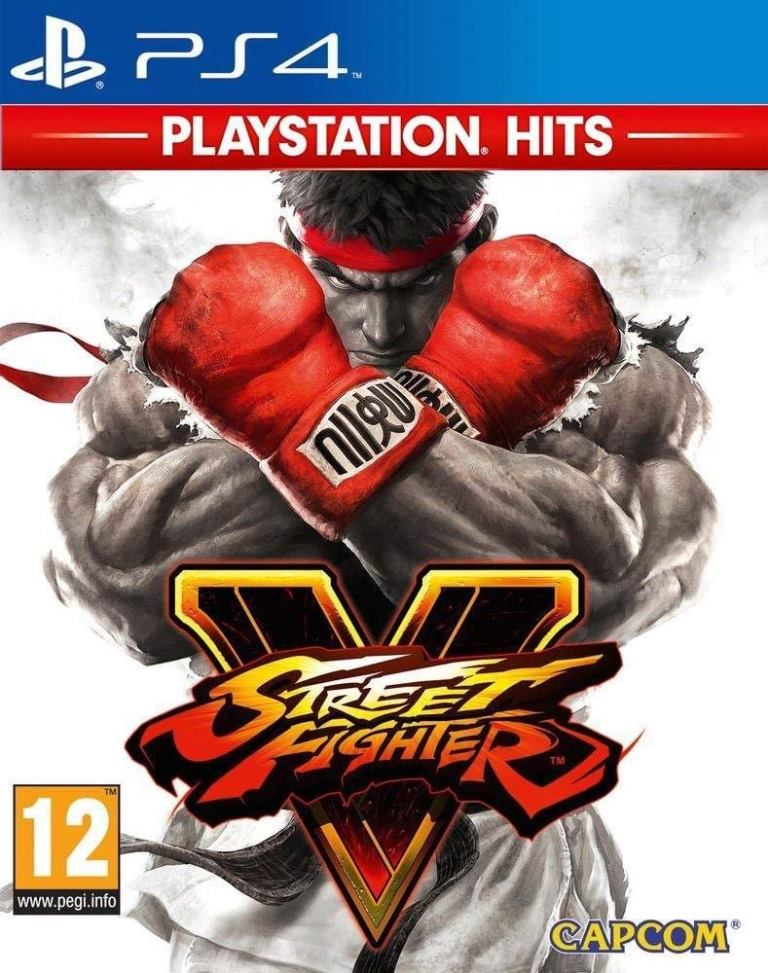 PS4 Hits Street Fighter V