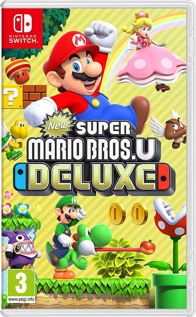 Jogo Switch New Super Mario Bros U Deluxe
