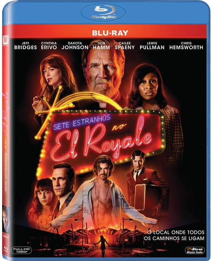 Blu-Ray Sete Estranhos No El Royale