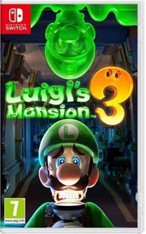 Jogo Switch Luigi's Mansion 3