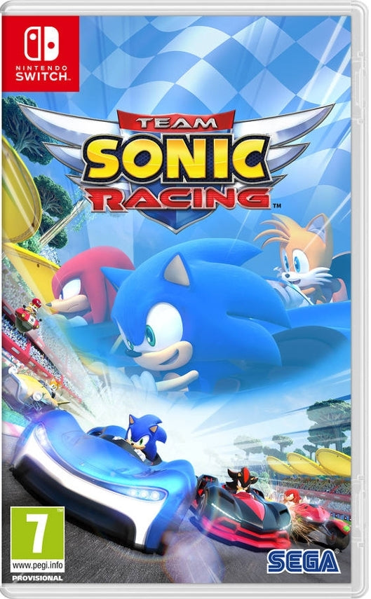 Jogo Switch Team Sonic Racing