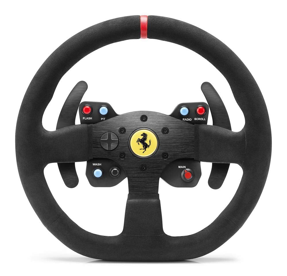 Volante Gaming Thrustmaster Multi Ferrari 599xx Evo 30 Add-On Alcantara Edition