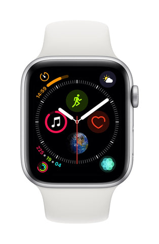 Apple Watch 44mm Series 4 Sport Branco - Smartwatch