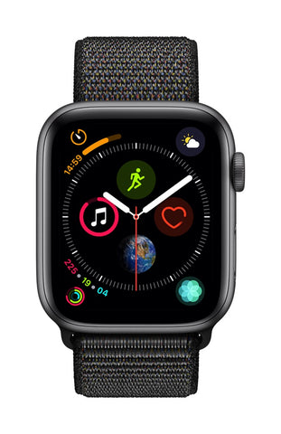Apple Watch 44mm Series 4 Loop Sport Preto - Smartwatch