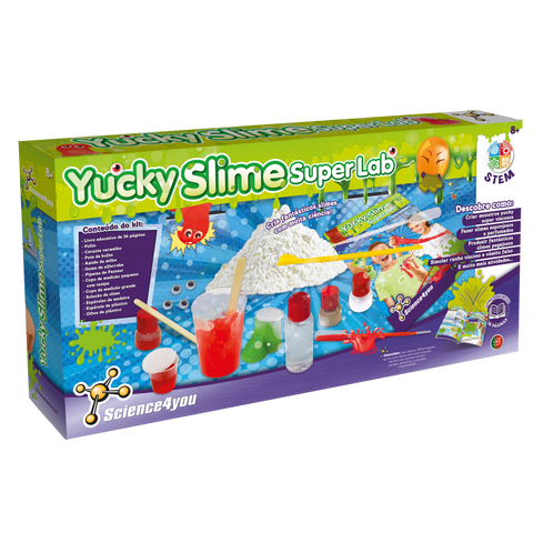 Jogo Didáctico Science4you Yucky Slime Super Lab