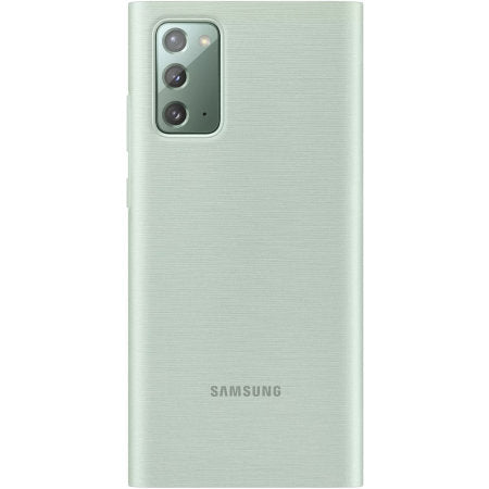 Capa Samsung Note 20 LED View Verde