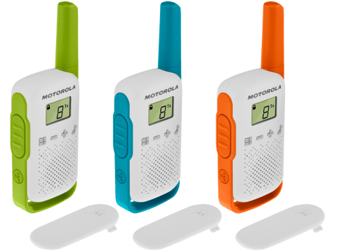 Motorola TLKR T42 Trio Multicor - Walkie Talkies