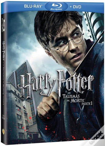 Blu-Ray Harry Potter e os Talismãs da Morte Parte 1 BRD+DVD