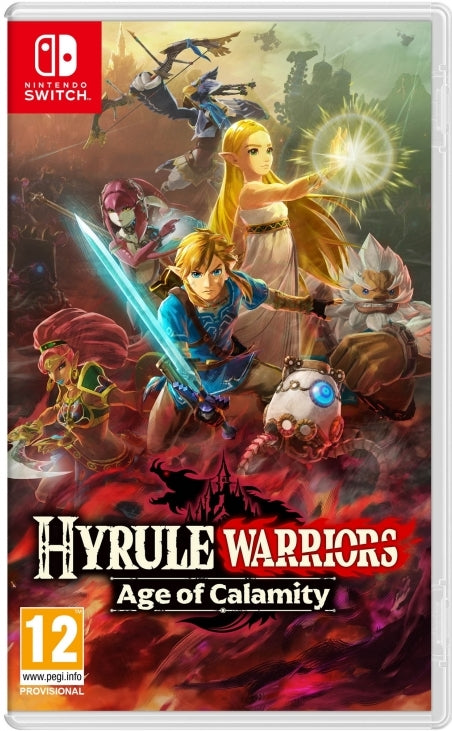 Jogo Switch Hyrule Warriors: Age Of Calamity