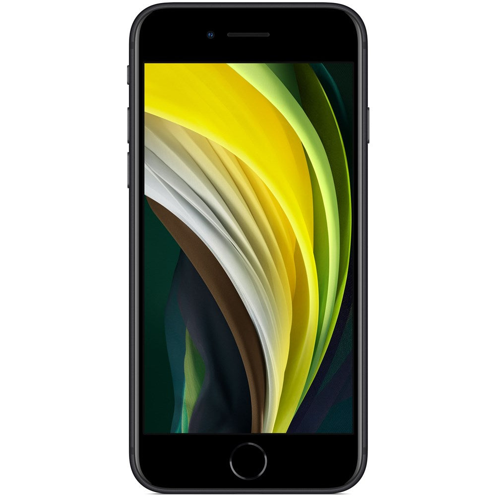 Apple iPhone SE Preto - Smartphone 4.7 128GB 3GB RAM A13 Bionic
