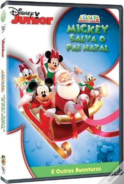 DVD A Casa do Mickey Mouse - Mickey Salva o Pai Natal