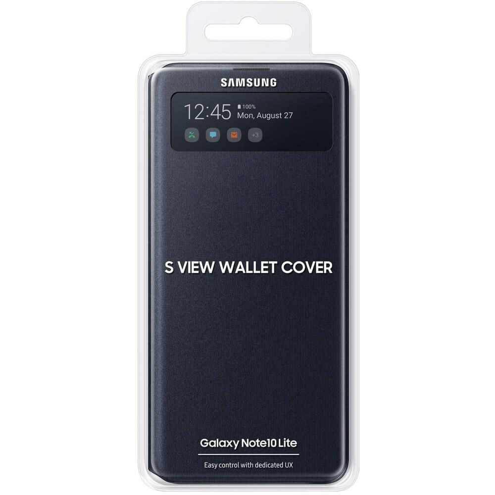 Capa Samsung Galaxy Note 10 Lite S-View cover Preto