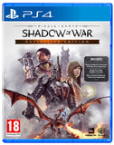 PS4 Shadow Of War Definitive Edition