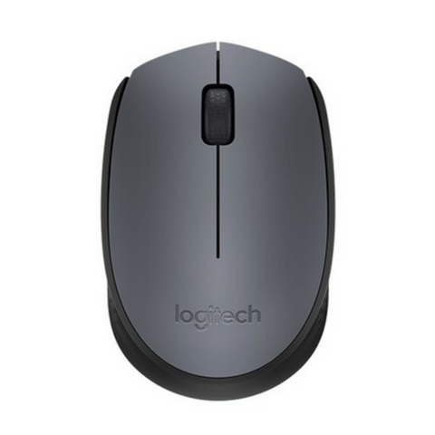 Rato Wireless Logitech Cinzento M170
