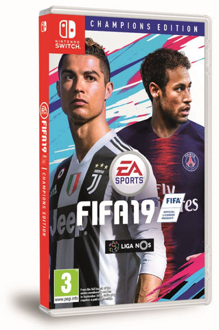 SWITCH FIFA 19 CHAMPIONS EDITION