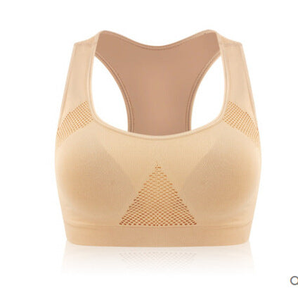 Seamless Sweat Absorbing Sports Bra