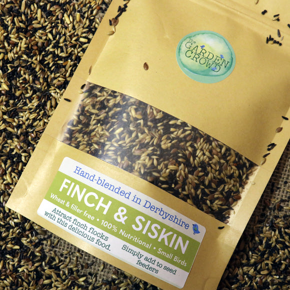 Finch & Siskin -  Natural Wild bird food and seed mixes - for Small Garden Birds