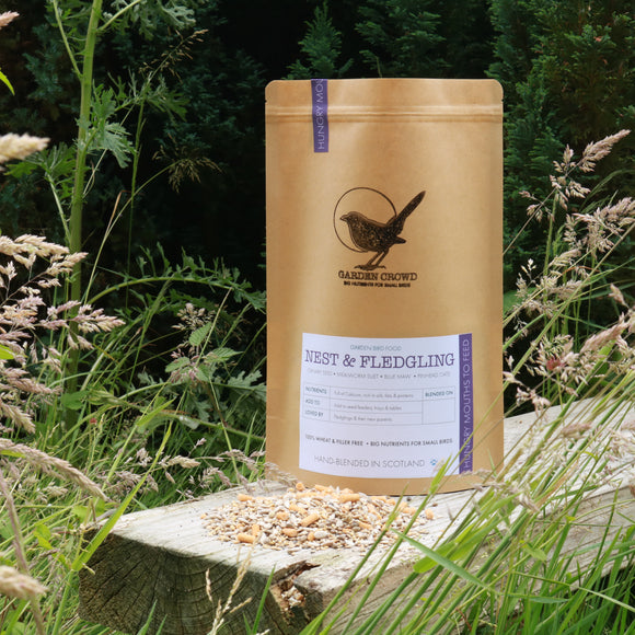 Nest & Fledge Mix -  Natural Wild bird food and seed mixes - for Small Garden Birds