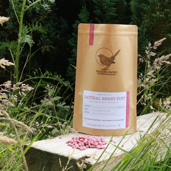 Natural Berry Suet Pellets -  Natural Wild bird food and seed mixes - for Small Garden Birds