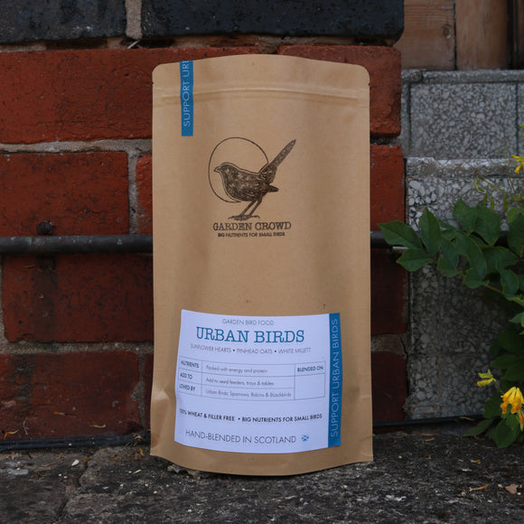 Urban Birds Blend -  Natural Wild bird food and seed mixes - for Small Garden Birds
