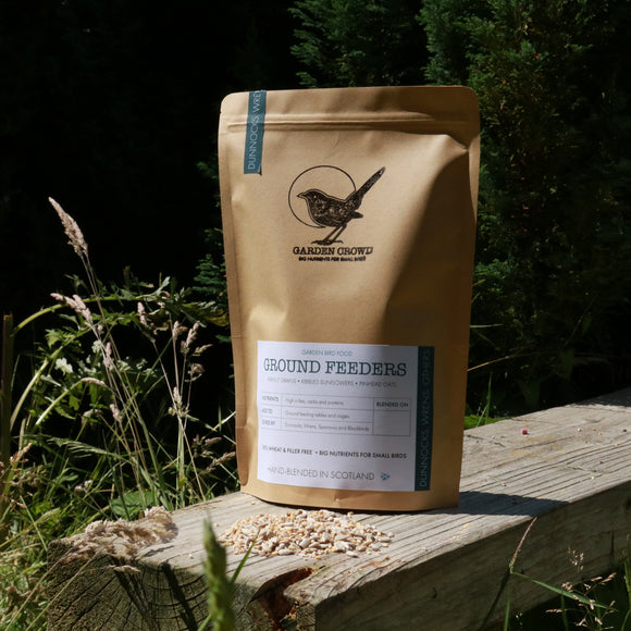 Ground Feeder Mix -  Natural Wild bird food and seed mixes - for Small Garden Birds