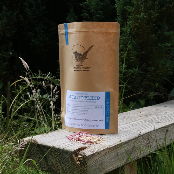 Blue Tit Blend -  Natural Wild bird food and seed mixes - for Small Garden Birds