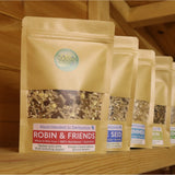 Subscription Box -  Natural Wild bird food and seed mixes - for Small Garden Birds