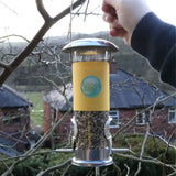 Feeder & Seed Kit -  Natural Wild bird food and seed mixes - for Small Garden Birds