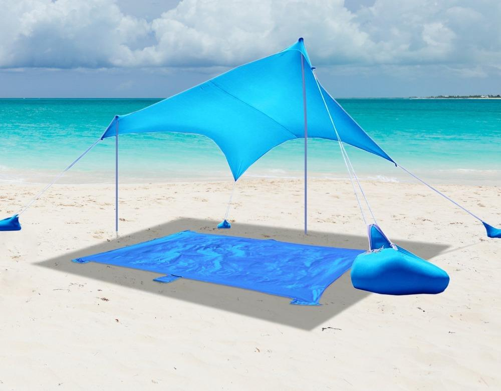 Beach Tent With Sandbag Anchors - PhenomHouse Group