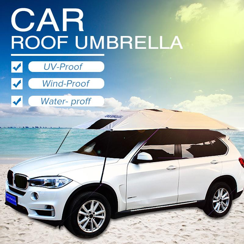 Car Umbrella (Semi-Automatic) - PhenomHouse Group
