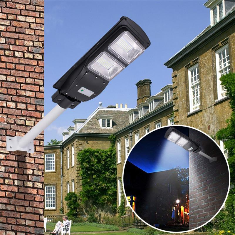 120 LED 60W SOLAR STREET LIGHT 4500LM - PhenomHouse Group