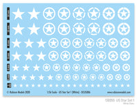 130055 - US Star Set 1 (White US Star)