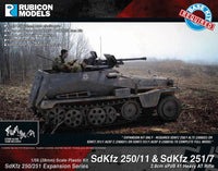 280045 - SdKfz 250/251 Expansion Set- SdKfz 250/11 & 251/7 sPzB 41 AT Rifle